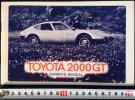 ★[5-18・国産]昭和49年 トヨタ 2000GT 英語版