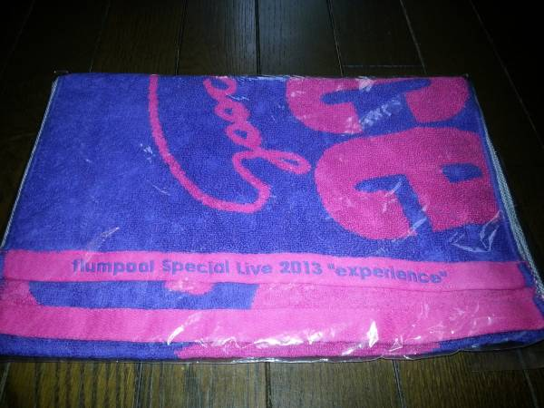 flumpool Special Live 2013 experience/タオル/グッズ