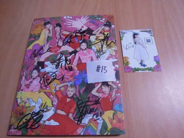 OH MY GIRL - COLORING BOOK (4th Mini 非売品)◆直筆サイン (トレカ 有) 15