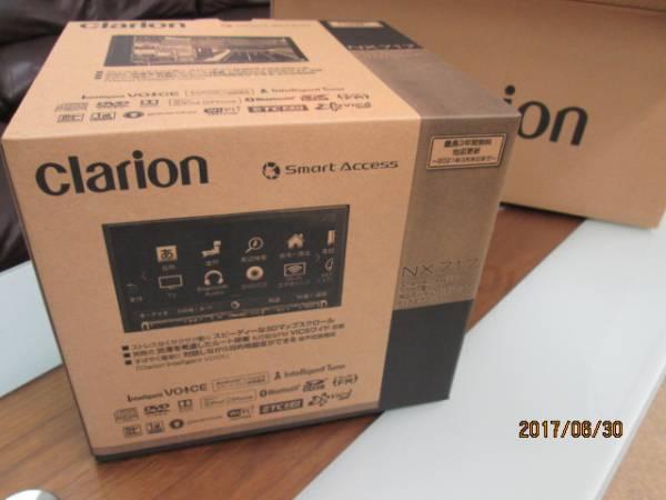 クラリオンNX717 新品・未開封Smart Accessリンク ワイド7型 VGA 地上デジタルTV/DVD/SD AVナビ_画像1