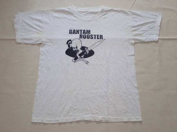 BANTAM ROOSTER 90年代 ヴィンテージ Tシャツ ダブルステッチ 白 検 melvins nirvana sonic youth libertines vines