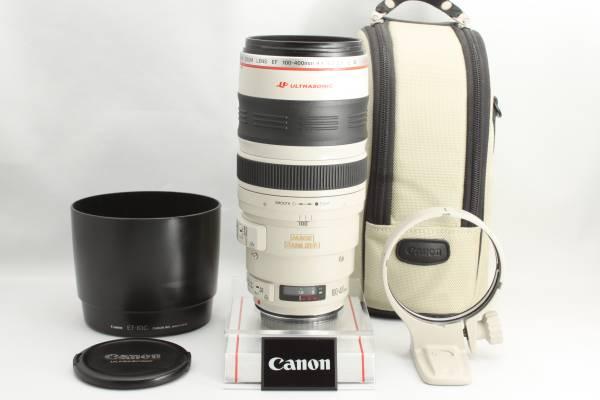 ★Lの銘玉★Canon キヤノン EF100-400mm F4.5-5.6L IS USM 付属品有