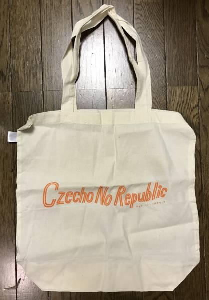 新品 Czecho No Republic ロゴ入り トートバッグ (チェコノーリパブリック エコバッグ 限定 レア