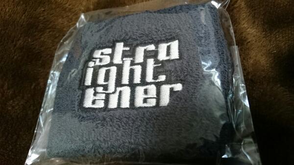 ストレイテナー レア リストバンド 新品 未使用 STRAIGHTENER