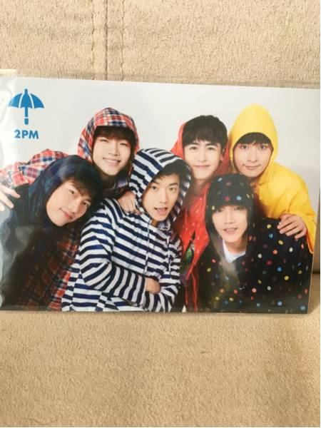 2PM JYPnation 全員 レインコートトレカ ライブグッズの画像