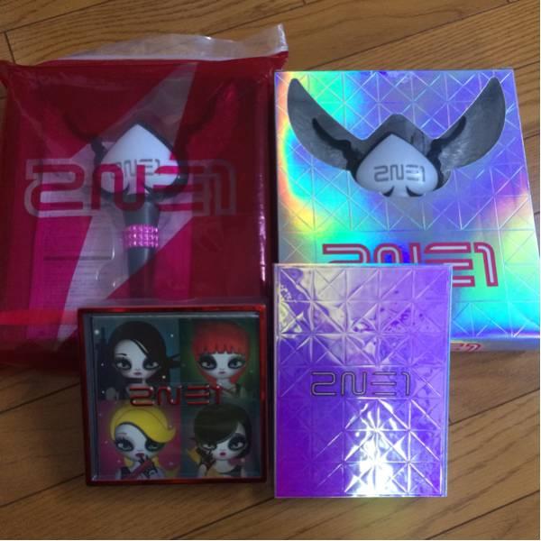 2NE1 公式 グッズ ペンライト CD アルバム ライブグッズの画像