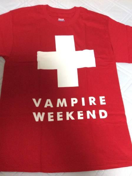 ★VAMPIRE WEEKEND red ski patrol(M)正規品ロックTシャツバンドT★ 新品 Mサイズ ★希少 レア柄★赤