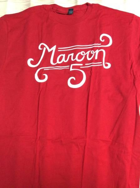新品★MAROON 5 マルーンファイブ - CURL LOGO / Tシャツ / メンズ XL 大きいサイズ【公式 / オフィシャル】