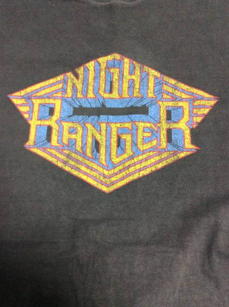 ★NIGHT RANGER ナイトレンジャー Tシャツ◆ XLサイズ 2011年 JAPAN TOUR ★バックプリント有