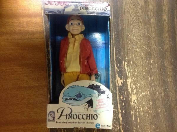 ピノキオ フィギュア Adventures of PINOCCHIO Doll (1996 Equity Toys 社製) ディズニーグッズの画像