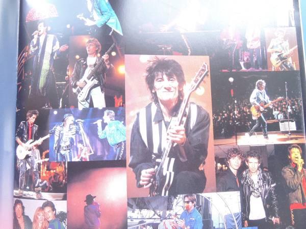 Rolling Stones ローリング ストーンズ1990年東京公演コンサートライブパンフレット/STEEL WHEELS TOKYO プログラム写真