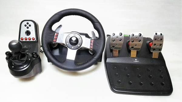 [10] Logitech G27 Racing Wheel レーシング ホイール