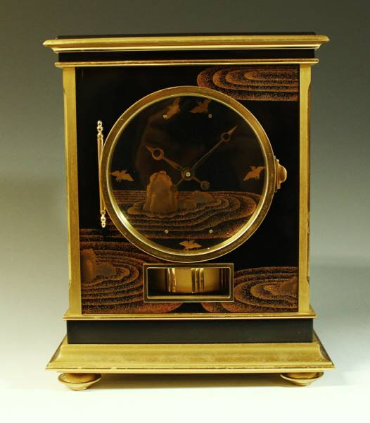 ジャガールクルト製 空気時計アトモス 枯山水に千鳥蒔絵(喜一銘) 特別仕様