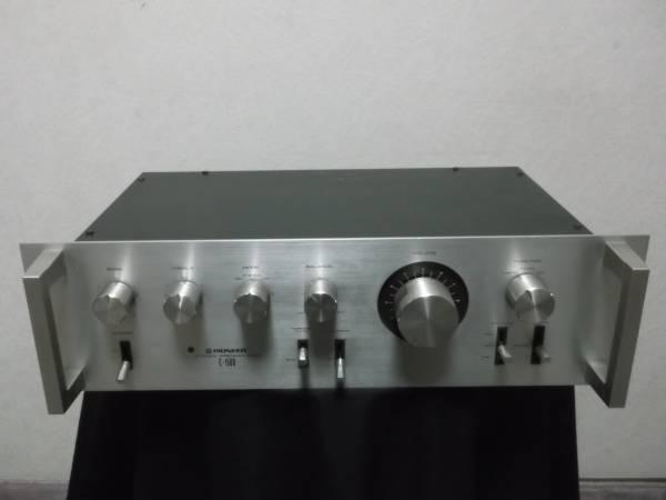送千円 パイオニア C-1500 ステレオプリアンプ コントロールアンプ 音だし可