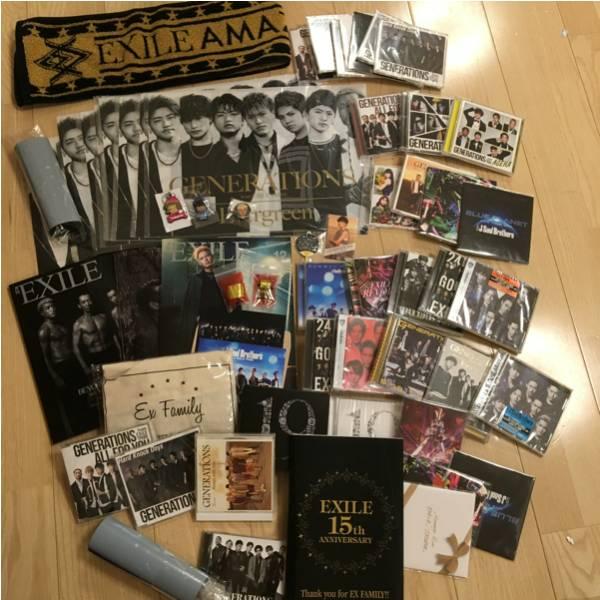 GENERATIONS 三代目 EXILE マフラータオル CD DVD グッズ 大量まとめ売り ライブグッズの画像
