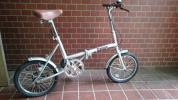 【未使用】オオトモ 折り畳み自転車