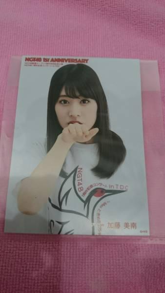 NGT48 1st anniversary 加藤美南 予約特典 生写真 Blu-ray ライブグッズの画像