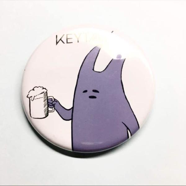 KEYTALK モンスター 缶バッジ 義勝 バッヂ キートーク