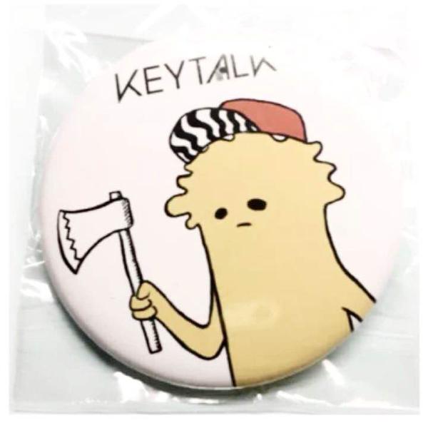 KEYTALK モンスター 缶バッジ 武正 新品 バッヂ キートーク