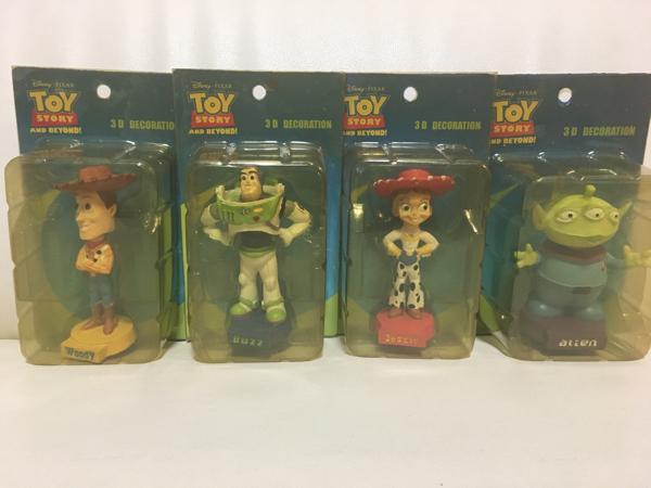 トイストーリー TOYSTORY フィギュア 4体セット 3D バズ ウッディ ディズニーグッズの画像