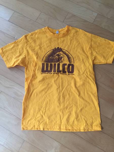 【美USED・日本未発売】 WILCO Gold Rooster Tee ウィルコ Tシャツ オフィシャルHP購入