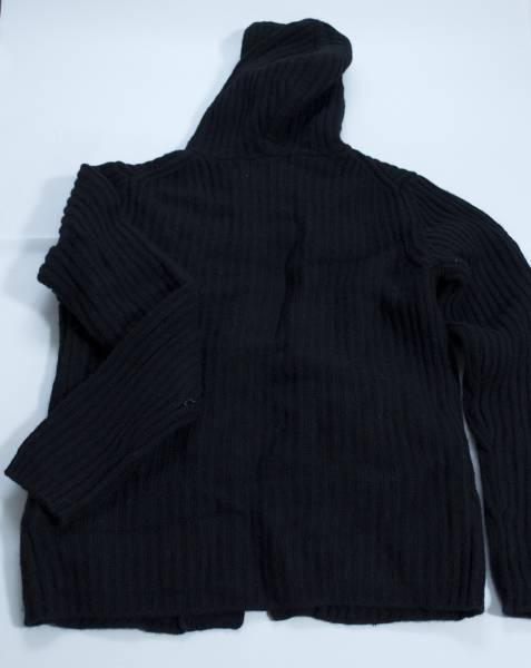 【送料無料・新品未使用 タグ付】 ニコル セーター ダッフル 黒 ブラック NICOLE Whole ホールナイン9 ◆ 462