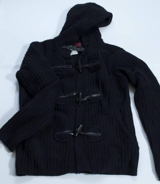 【送料無料・新品未使用 タグ付】 ニコル セーター ダッフル 黒 ブラック NICOLE Whole ホールナイン9 ◆ 461