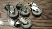 ☆新品☆ナンシン製キャスター車輪 4個 自在車 ウレタン