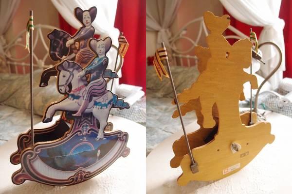 ★Koji Murai Collection Pierrot de Pierre むらいこうじ コレクション オルゴール ピエロ カルーセル ゆりかご 確認動画あり_画像2