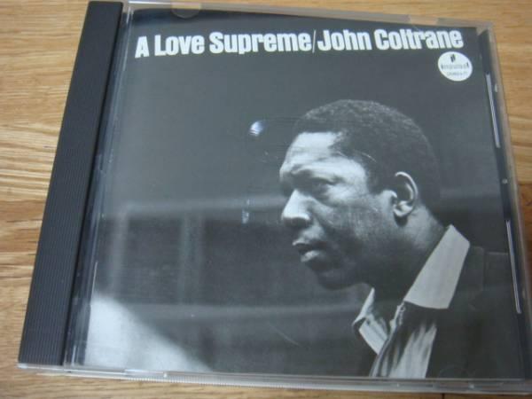 JOHN COLTRANE A LOVE SUPREME 至上の愛 SHM-CD ジョンコルトレーン_画像1