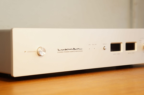 ■LUXMAN/ラックスマン BTLモード 塔載 ステレオ パワーアンプ M-200 ~ オーディオ 音響 スピーカークラシックマランツマッキントッシュ