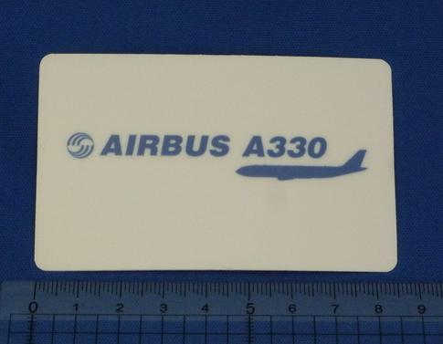 /防水素材 エアバス A330 ステッカー ワイドボディ Airbus ターボファンエンジン エアアジア ルフトハンザ キャセイ パシフィック SL-52_画像1