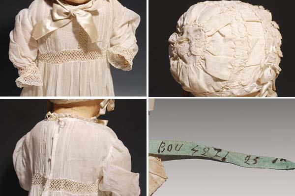 アンティークドール ベイビー コンポジションドール H52cm 西洋人形 西洋美術 その他 a4583_画像3
