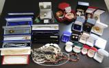遺品整理 含む 大量 宝石 装飾品 アクセサリー ネックレス ピアス 指輪等 刻印多数 まとめて セット5