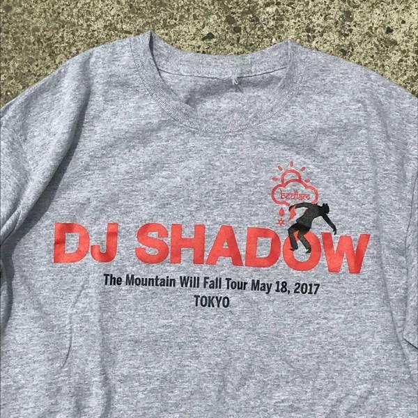 【新品】激レア東京限定 DJシャドウ オールウェイズ ベッドラム Tシャツ グレー M DJ SHADOW ALWAYTH BEDLAM i&i MoWAX KRUSH HIPHOP RAP
