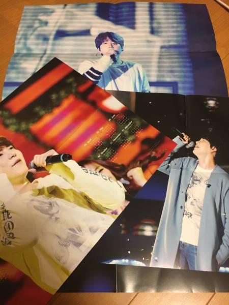 SUPERJUNIOR: KYUHYUN ポスター3枚組 ライブグッズの画像