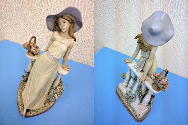 LLADRO/リアドロ『輝く時』約35㎝ 陶器 代表作 5378