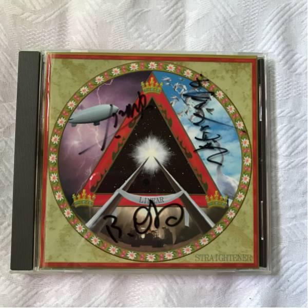 ストレイテナー LINEAR 3人編成時のサイン入り CD ライブグッズの画像