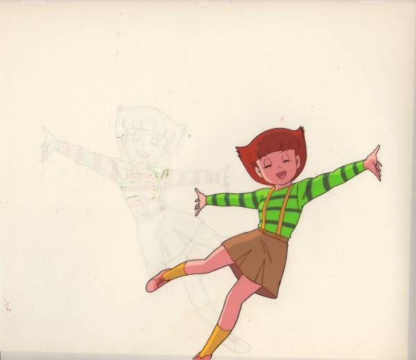 「エスパー魔美」のセル画1 グッズの画像