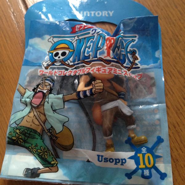 海賊王ONEPIECE World Collectible Figure Mini Strap Usopp Seven Eleven 編號:j443253831