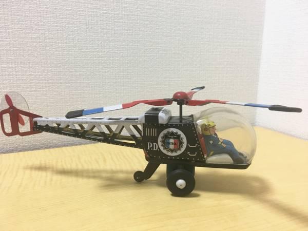 ブリキのおもちゃ ATC POLICE ヘリコプター 日本製