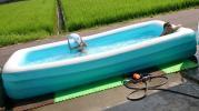 大型 ビニールプール プール 3気室式 中古品