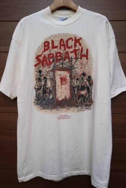 90S BLACK SABBATH バンドTシャツ ビンテージ メタル LED ZEPPELIN DEEP PURPLE SUPREME