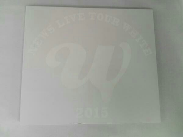 NEWS LIVE TOUR 2015 WHITE(初回版) コンサートグッズの画像