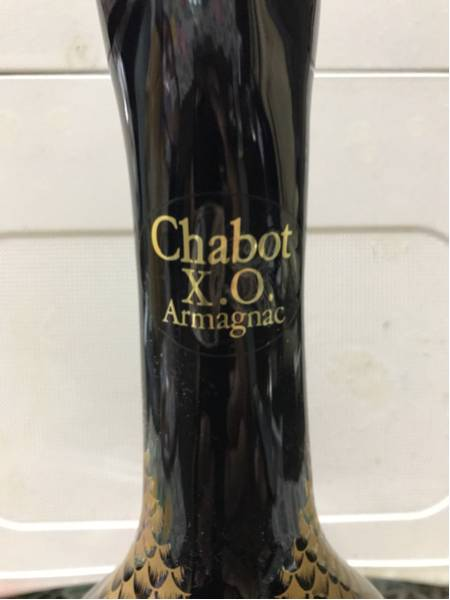お酒 1987年物 超レア品アメリカで30年前に購入したもので未開封 Chabot X.O Armagnac_画像3