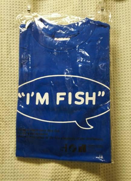 07 バンドTシャツ フィッシュマンズ アイムフイッシュ ブルー = 未使用