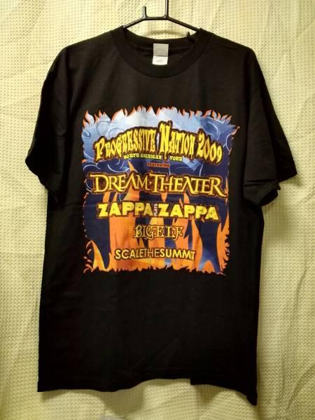 07 バンドTシャツ プログレッシブネイション2009 L ドリームシアター ザッパプレイズザッパ