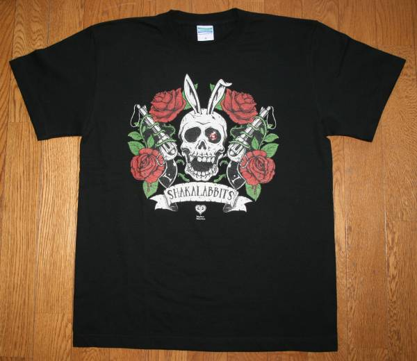 シャカラビッツ 釈迦兎 04年 ツアー BURNING CYLINDER TOUR 新品未使用 Tシャツ