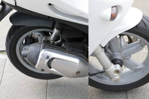 ADIVA 125cc アディバ 屋根付きバイク_画像3