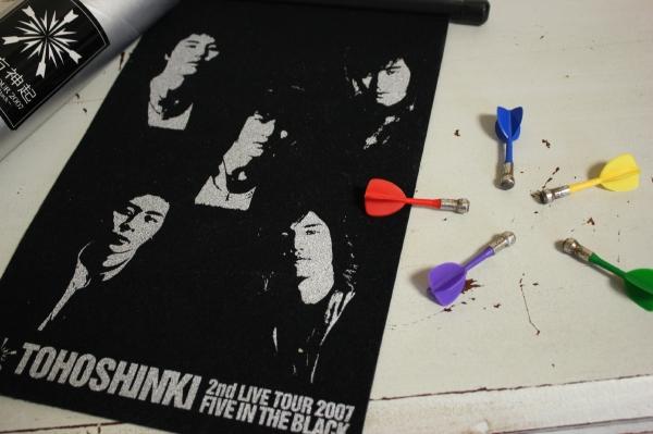 東方神起*2nd LIVE TOUR 2007 FIVE IN THE BLACK ダーツセット